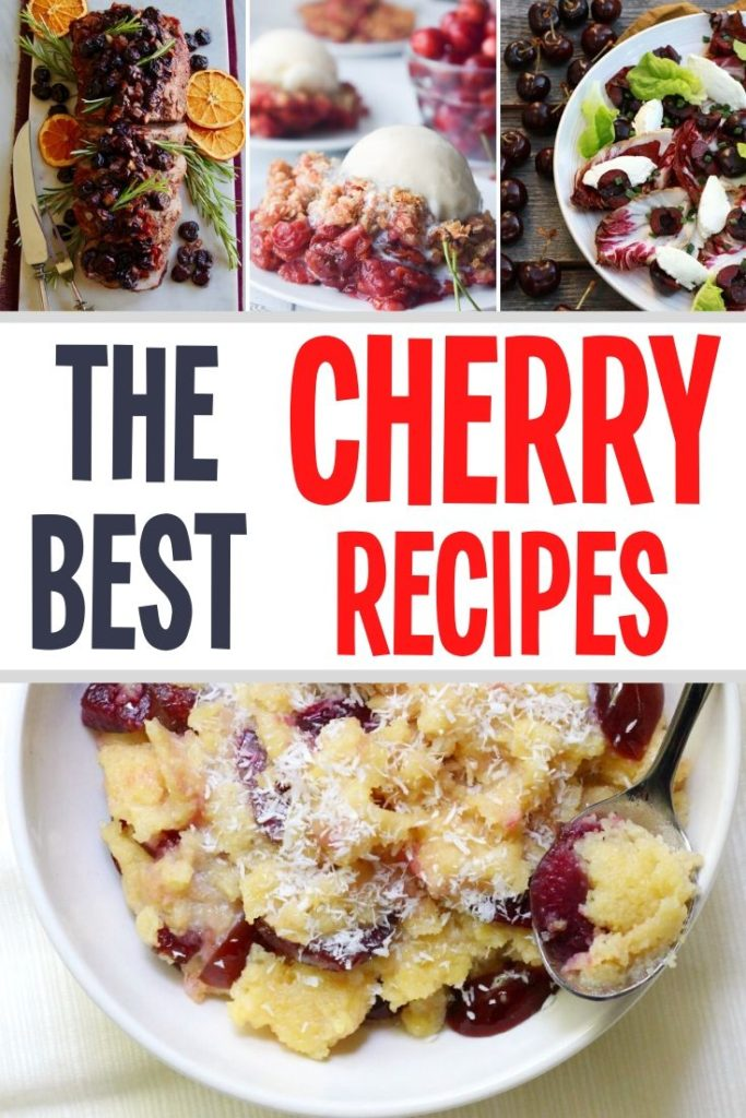 the best cherry recipes